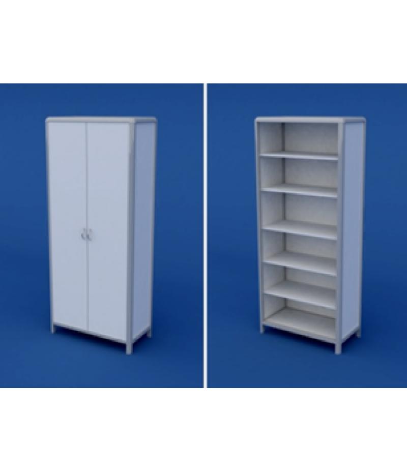 Шкаф для кабинета врача АШД-2.01-ВТМ  800х400х1800
