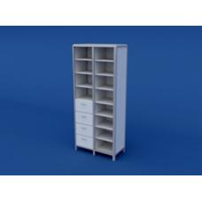 Шкаф для документации АШД-2.04-ВТМ  800х400х1800