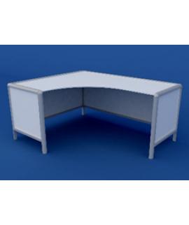Стол для препараторской АСЛ-0.11-ВТМ 1300х1600х750