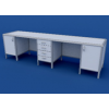 Стол для медлабораторий АСЛ-0.14-ВТМ