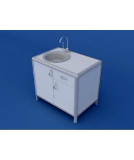 Стол под мойку АСМ-0.4-ВТМ   900х600х850