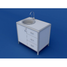 Стол под мойку АСМ-0.5-ВТМ