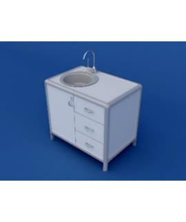 Стол под мойку АСМ-0.5-ВТМ  900х600х850