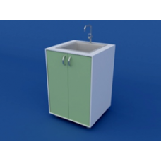 Стол-мойка лабораторная химическая ЛСМХ-0.01-ВТМ  600х600х900