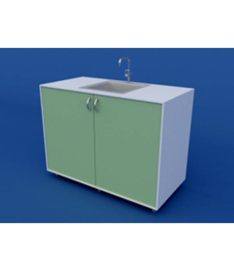 Стол-мойка лабораторная химическая ЛСМХ-0.03-ВТМ  1200х600х900