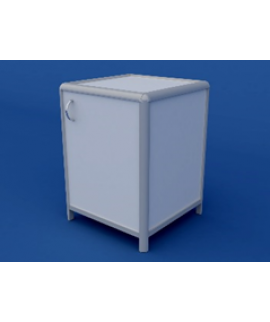 Тумба для медлабораторий АТЛ-0.03-ВТМ  600х600х850