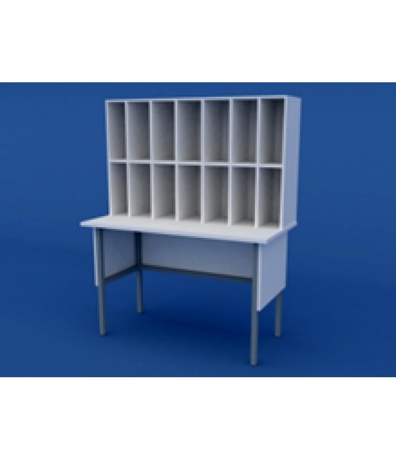 Стол для приёма и регистрации анализов ЛСХ-0.09-ВТМ  1200х600х1500