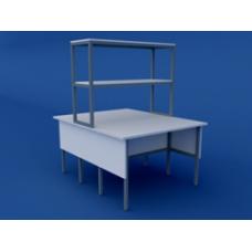 Стол лабораторный физический  островной низкий ЛСФО-0.03-ВТМ