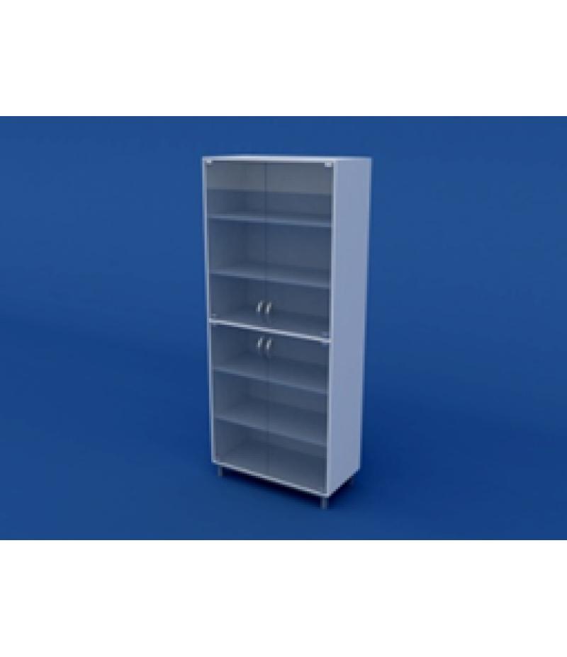 Шкаф для лабораторной посуды ЛШП-0.02- ВТМ  800х400х1800