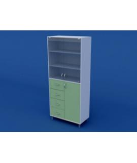 Шкаф для лабораторной посуды ЛШП-0.11-ВТМ  800х400х1800