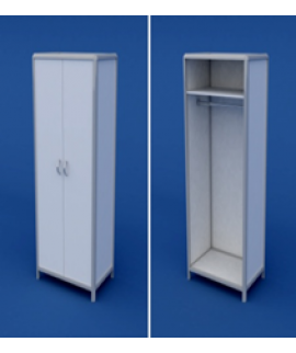 Шкаф для одежды АШР-2.01-ВТМ  800х520х1800