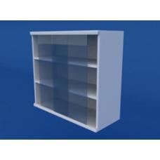 Шкаф навесной, раздвижные стеклянные двери ЛШП-0.12-ВТМ  800х300х700