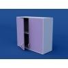 Шкаф навесной, распашные двери ЛШП-0.14-ВТМ