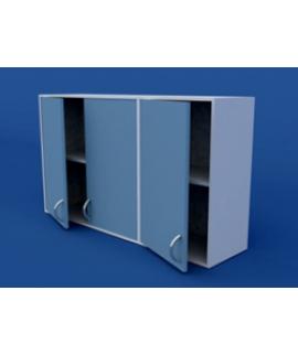 Шкаф навесной, распашные двери ЛШП-0.15-ВТМ   1200х300х700