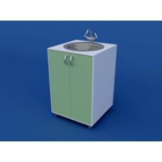 Стол-мойка лабораторная одинарная ЛСМ-0.01-ВТМ  600х600х900