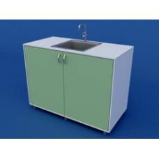 Стол-мойка лабораторная одинарная ЛСМ-0.03-ВТМ