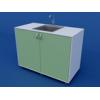 Стол-мойка лабораторная двойная ЛСМ-0.04-ВТМ