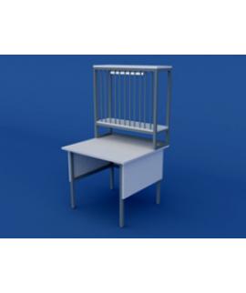Стол титровальный низкий ЛСТ-0.01-ВТМ  900х850х750/1350