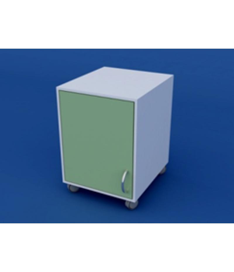 Тумба лабораторная подкатная  ЛТП-1.01-ВТМ   400х450х550