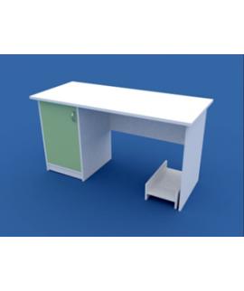 Стол для кабинета врача однотумбовый  МС-1.03-ВТМ 1400х600х750