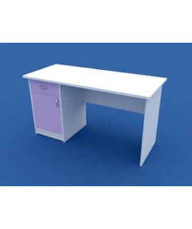 Стол для кабинета врача однотумбовый  МС-1.04-ВТМ  1200х600х750