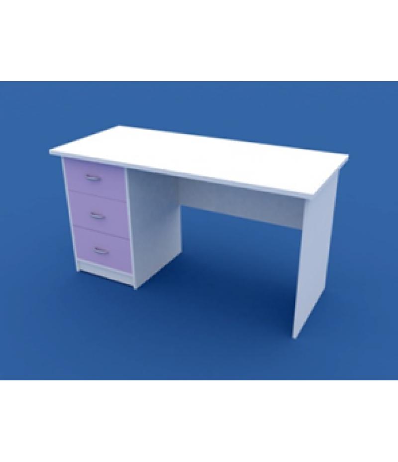 Стол для кабинета врача однотумбовый  МС-1.08-ВТМ  1400х600х750
