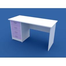 Стол для кабинета врача однотумбовый  МС-1.10-ВТМ  1200х600х750
