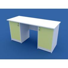 Стол для кабинета врача двухтумбовый МС-2.01-ВТМ  1500х600х750
