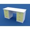 Стол для кабинета врача двухтумбовый МС-2.02-ВТМ