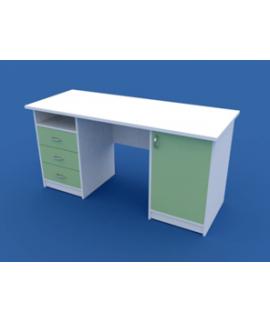 Стол для кабинета врача двухтумбовый МС-2.04-ВТМ  1500х600х750