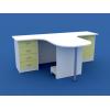 Стол врача эргономичный на два рабочих места МС-3.04-ВТМ