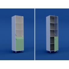 Шкаф медицинский одностворчатый для медикаментов  МШ-1.06-ВТМ