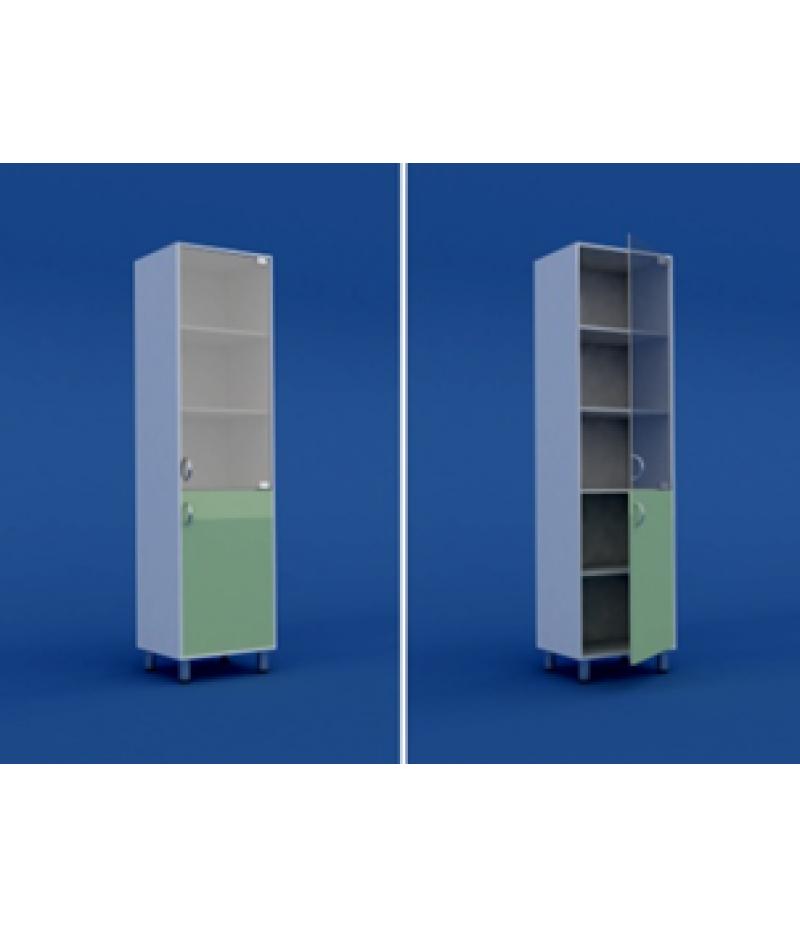 Шкаф для кабинета врача  одностворчатый  МШ-1.05-ВТМ  500х400х1800