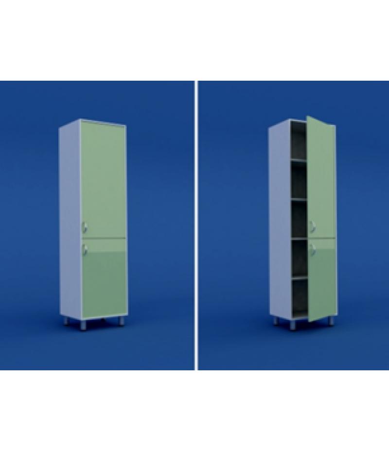 Шкаф для кабинета врача одностворчатый  МШ-1.11-ВТМ  500х400х1800