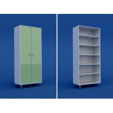Шкаф медицинский двухстворчатый для документов   МШ-2.01-ВТМ  800х400х1800