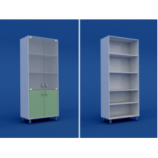 Шкаф для кабинета врача двухстворчатый  МШ-2.03-ВТМ