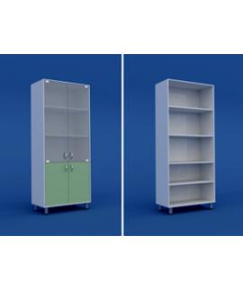 Шкаф для кабинета врача двухстворчатый  МШ-2.03-ВТМ   800х400х1800