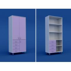 Шкаф для документации двуахстворчатый  МШ-2.08-ВТМ  800х400х1800