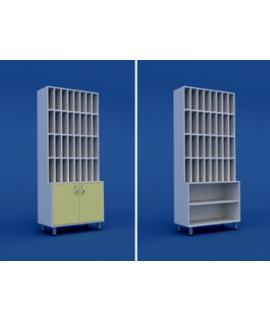Шкаф для хранения историй болезни МШ-3.01-ВТМ  800х400х1800