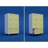 Шкаф картотечный ( 8 выдвижных ящиков) МШ-3.09-ВТМ