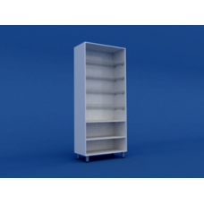 Стеллаж кухонный с сушкой для посуды МШ-3.11-ВТМ 800х400х1800
