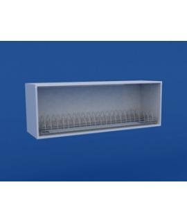 Полка настенная открытая для посуды ЛШП-0.17-ВТМ 1000х280х350