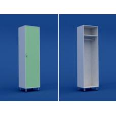 Шкаф медицинский для одежды  МШ-1.22-ВТМ  500х550х1800