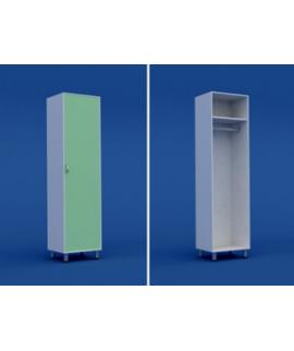 Шкаф медицинский для одежды  МШ-1.21-ВТМ  500х400х1800