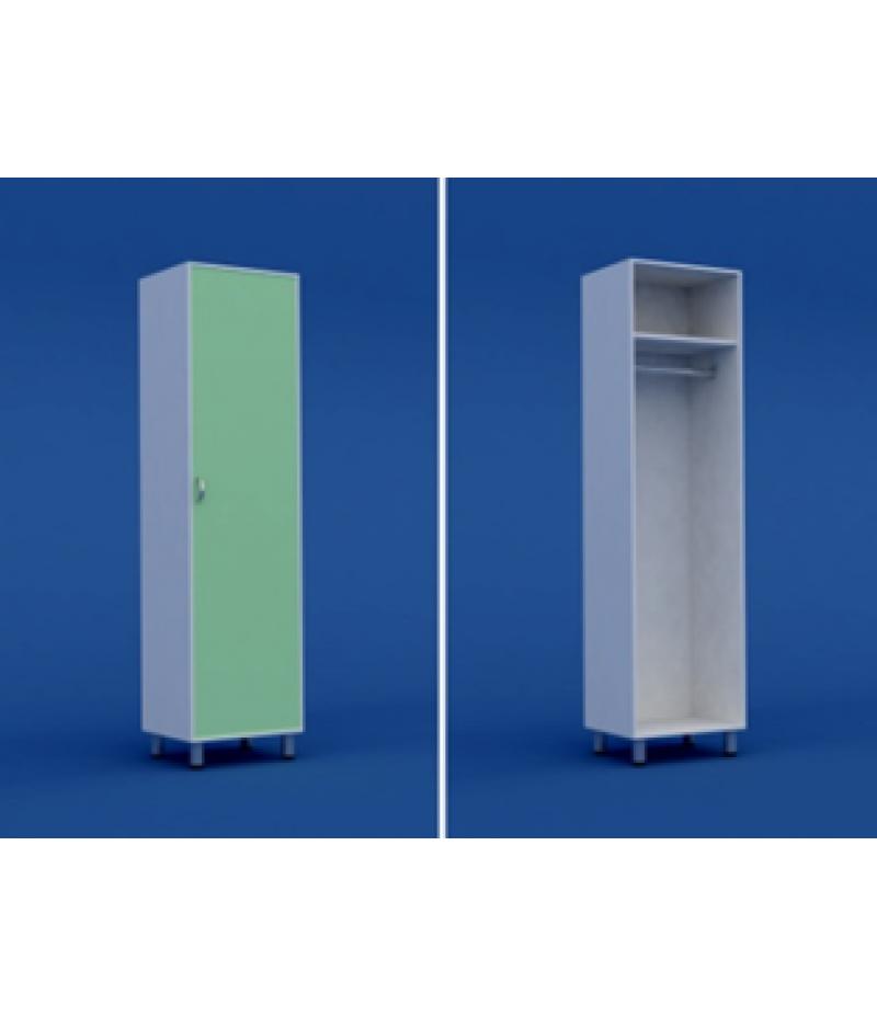 Шкаф медицинский для одежды  МШ-1.23-ВТМ  500х400х1800