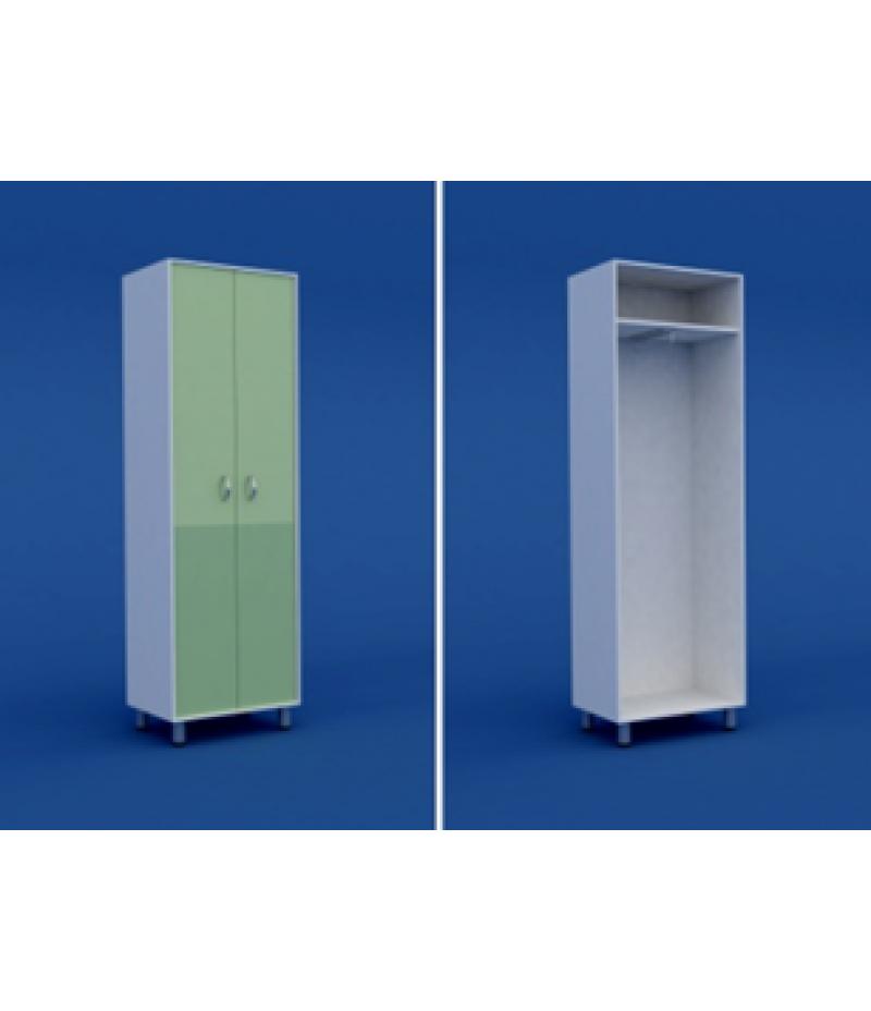 Шкаф для одежды двухстворчатый  МШ-2.21-ВТМ  600х400х1800