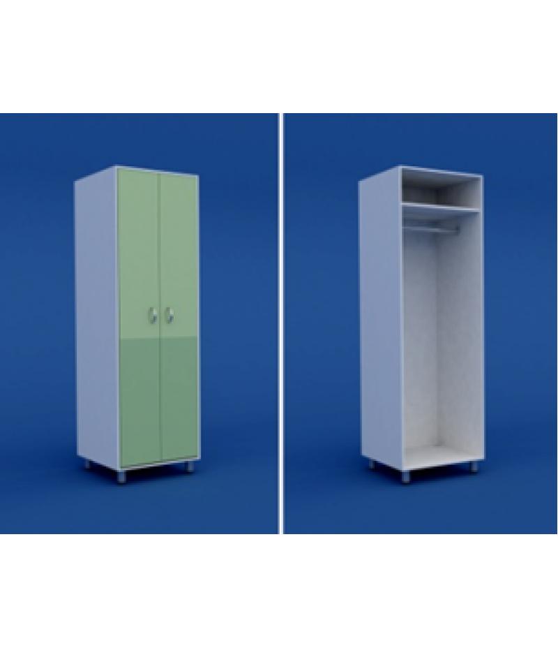 Шкаф для одежды двухстворчатый  МШ-2.22-ВТМ  600х550х1800