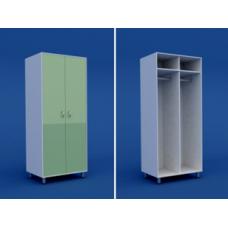 Шкаф для одежды двухстворчатый  МШ-2.23-ВТМ  600х550х1800