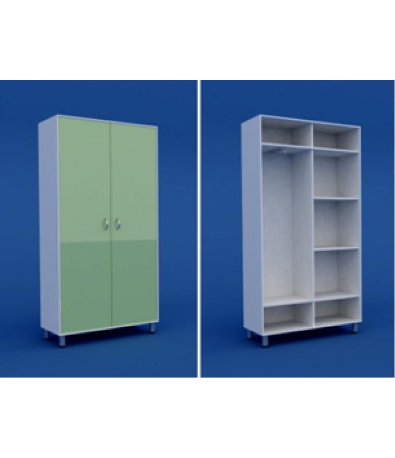 Шкаф для одежды двухстворчатый  МШ-2.24-ВТМ  1000х400х1800