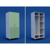 Шкаф для одежды двухстворчатый  МШ-2.25-ВТМ